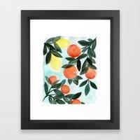 Dear Clementine Framed Art Print