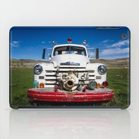 Old Fire Engine iPad Case