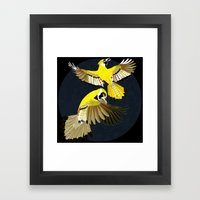 Blue Jays. Framed Art Print