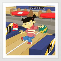 Non Olympic Sports: Bowl… Art Print