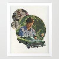 Men's Series 2 Art Print