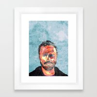 Pinkman Framed Art Print