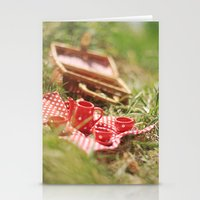 Riverside Teaparty Stationery Cards