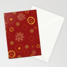 Arc Reactor Polka Dots Stationery Cards