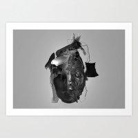 Emotional Reaction Art Print