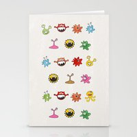 Creatures Stationery Cards