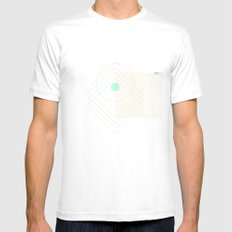 Shea SMALL White Mens Fitted Tee