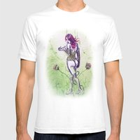 Ivy Mens Fitted Tee White SMALL