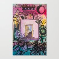 Door To Eden Canvas Print