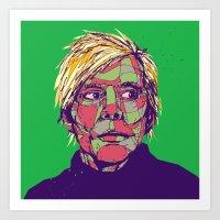 Andy Warhol 1928 - 1987 Art Print