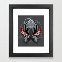 One Is All, All Is One Framed Art Print
