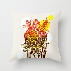 The Honeycomb Throw Pillow