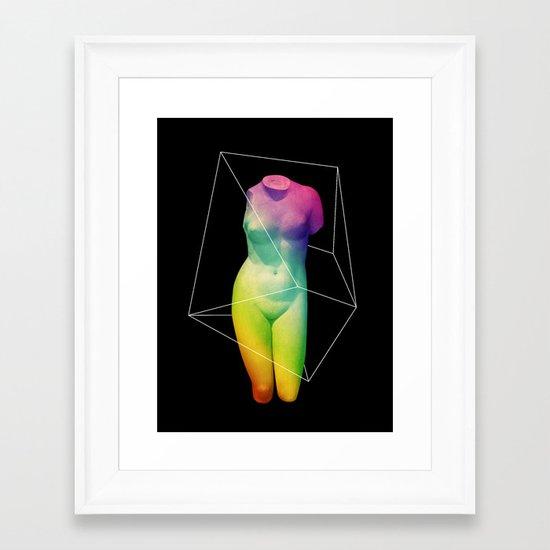 Paradame Shift x Prisma Framed Art Print