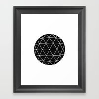 Geodesic  Framed Art Print
