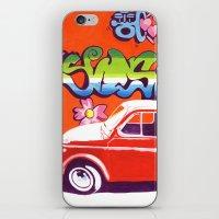 Fiat 500 Graffiti iPhone & iPod Skin