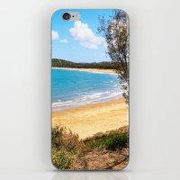 Idyllic tropical beach iPhone & iPod Skin