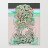 Canvas Print featuring L O S T W O R D S by Cassidy Rae Limbach