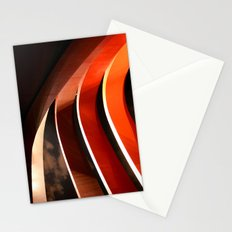 Ornage Curves Stationery Cards