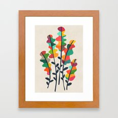 Flower from the meadow Framed Art Print