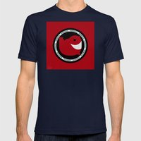 NARWHAL Mens Fitted Tee Navy SMALL
