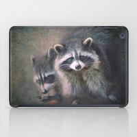 The Two Raccoons.. iPad Case