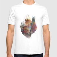 The Heart Mens Fitted Tee White SMALL