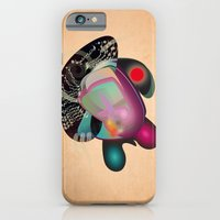 iPhone & iPod Case featuring Dissection (of a thought) by Rilke Guillén