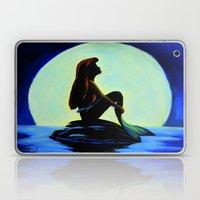 Mermaid In The Moonlight Laptop & iPad Skin