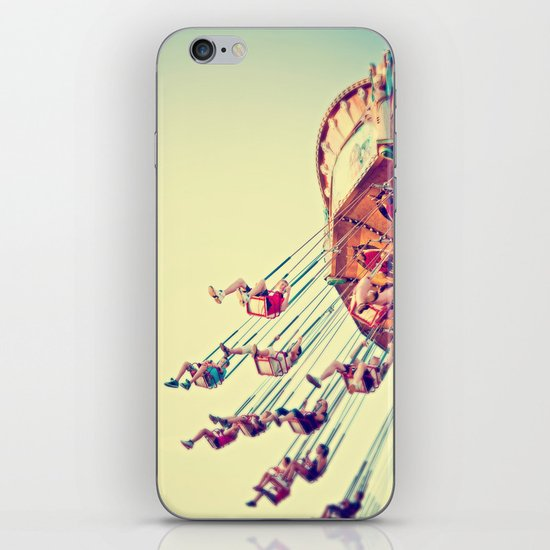 joy ride iPhone & iPod Skin