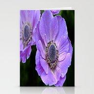 Remembrance Purple Poppy… Stationery Cards