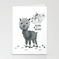 Llama Or Alpaca Stationery Cards