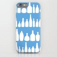 Bottles Blue iPhone 6 Slim Case