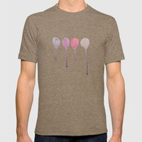 Balloons Mens Fitted Tee Tri-Coffee SMALL