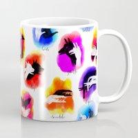 Watercolor Shadow Puppets Mug