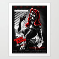Toon Town: A Dame To Fra… Art Print