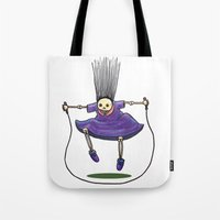 Jumprope Girl Tote Bag