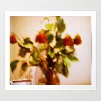 Death Roses Art Print
