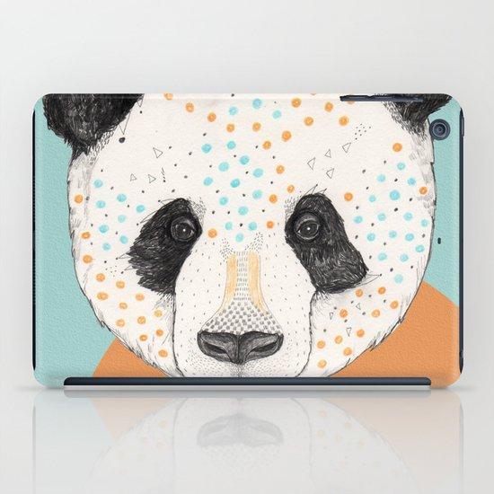 Polkadot Panda iPad Case