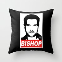 Obey Peter Throw Pillow