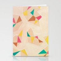 Geometric Art Stationery Cards