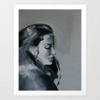 My sister Art Print