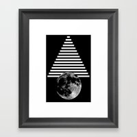 Moon Walk Framed Art Print