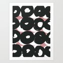 Pattern WN1 Art Print