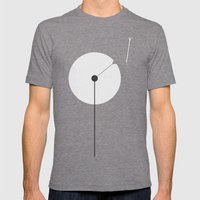 Dandelion Mens Fitted Tee Tri-Grey SMALL