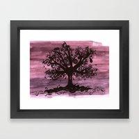 EYE TREE Framed Art Print