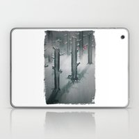 The Woods in Winter Laptop & iPad Skin