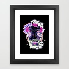 Lift Your Head To Die Framed Art Print