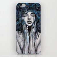 Melting Thoughts. iPhone & iPod Skin