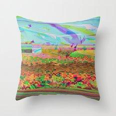 Lost In Flight Throw Pillow