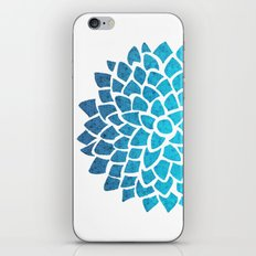 Sea Glass Dahlia iPhone & iPod Skin
